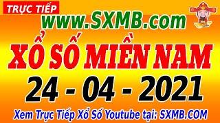 XSMN Thứ 7 - Trực Tiếp Xổ Số Miền Nam Hôm Nay Ngày 24/04/2021 | KQXSMN HOM NAY