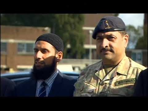 Birmingham Central Mosque signed a pledge to support British Armed Forces