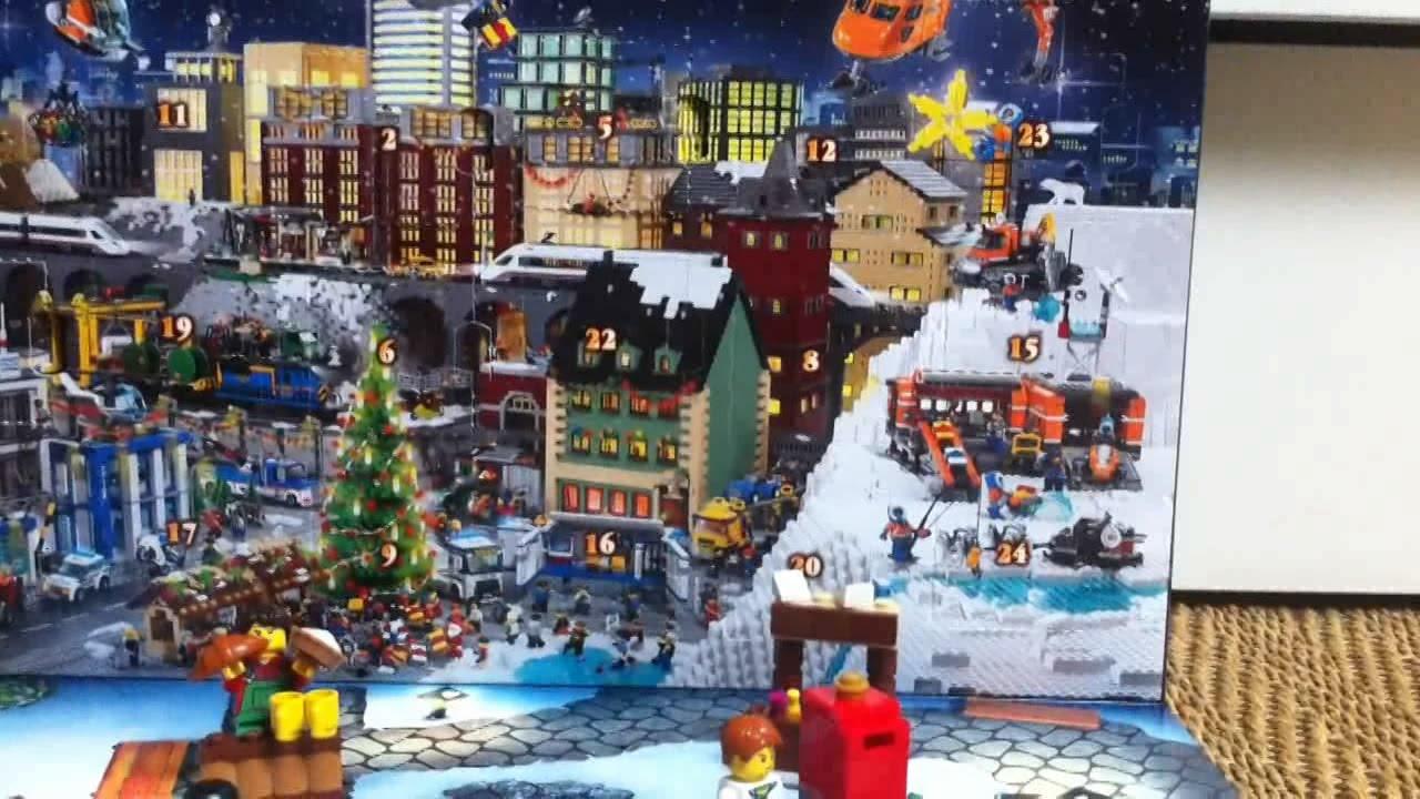 Calendrier Avent Lego City.Calendrier De L Avent Lego City Jour 7 2014 Francais