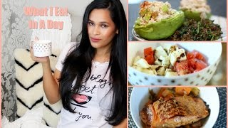 What I Eat In A Day - Easy Healthy Recipes - Misslizheart
