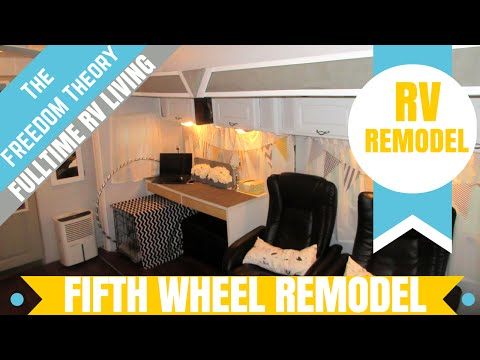 FIFTH WHEEL REMODEL UPDATE | The Freedom Theory