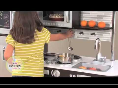 cuisine uptown expresso - jouets de simulation en bois kidkraft