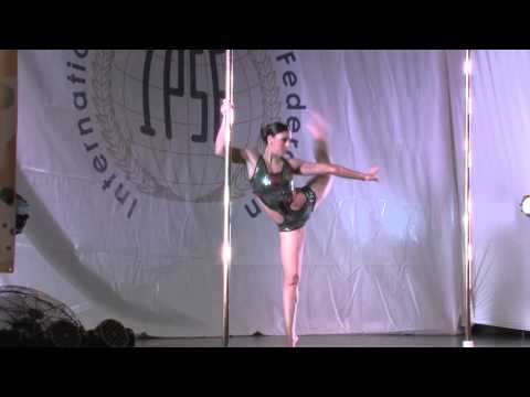 Alessandra Rancan True - SENIOR WOMEN - FINALIST- WORLD POLE SPORTS CHAMPIONSHIPS 2014