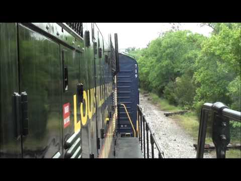 MUST SEE!!! Birthday cab rides on the Tennessee Central Train Robbery Excursion!!!!!! (5/18/13)