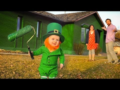 this leprechaun baby is more precious than a pot of gold youtube