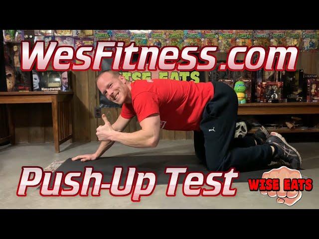 The Push Up Test - Fitness Assessment for Upper Body Strength & Endurance (WesFitness.com)