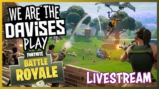 Wednesday Fortnite Duos with Tyler and Shawn Part 2 | We Are The Davises Live Stream Gaming