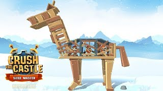 Crush the Castle: Siege Master - Level 51 - 60 (All 3 Stars) Gameplay Walkthrough