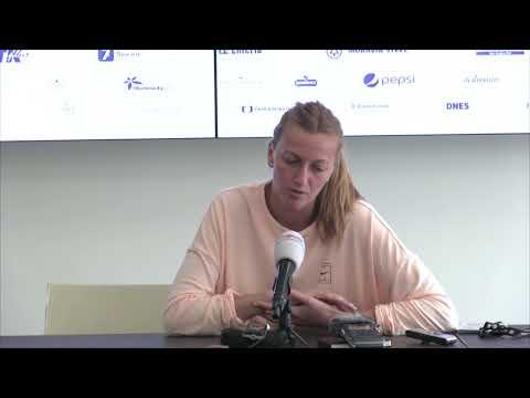 Petra Kvitová po vítězství v osmifinále J&T Banka Prague Open