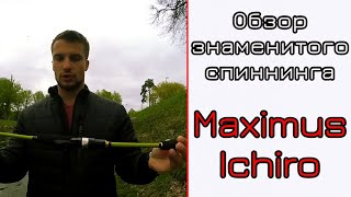 обзор спиннинга Maximus Ichiro. Знаменитый ультралайт. Спиннинг для голавля
