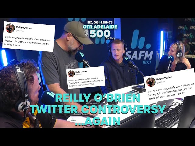 Reilly O'Brien Twitter Controversy ...Again   Bec Cosi and Lehmo