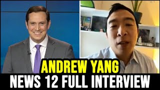 Andrew Yang on News 12 New York | Full Interview | February 10th 2021