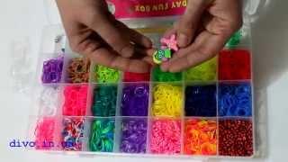 Rainbow Loom 4200 резиночек