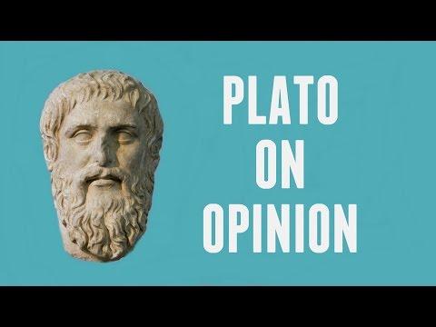 Plato on Knowledge & Opinion