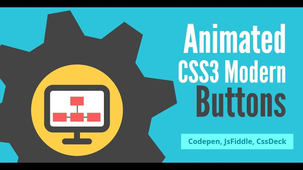 Animated CSS3+HTML buttons examples (Codepen, jsFiddle, CssDeck)
