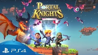 Portal Knights | Launch Trailer | PS4