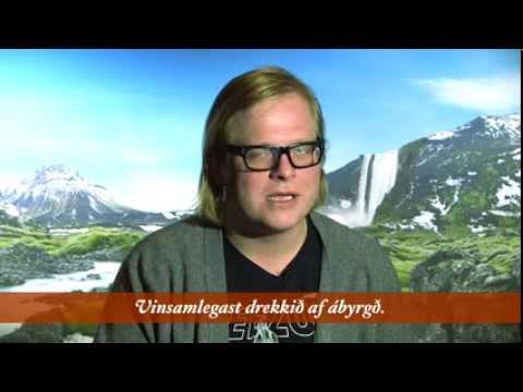 Reyka Icelandic Language Lesson: Drink Responsibly