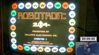 Robotron: 2084 - 101,250,000 on Original Yellow ROMS - Part One