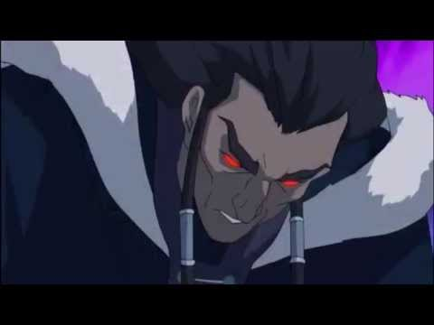 Korra vs Dark Avatar Unalaq Epic Fight HD