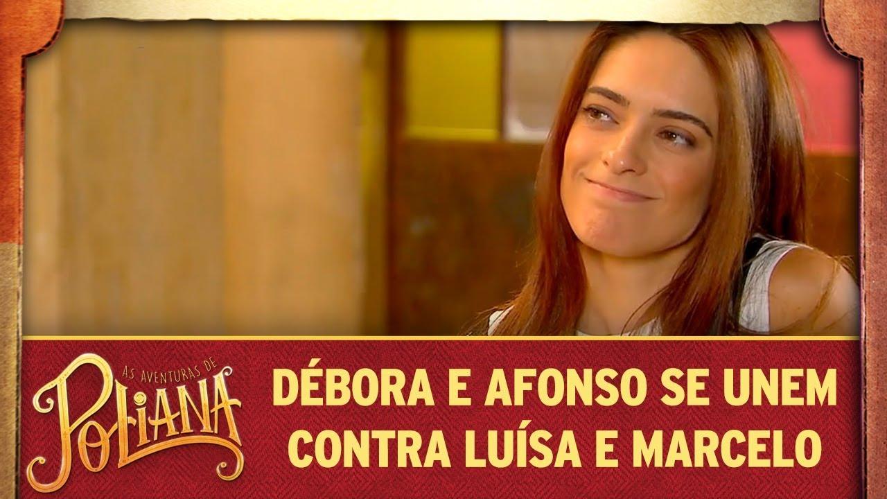 Débora e Afonso se unem contra Luísa e Marcelo | As Aventuras de Poliana