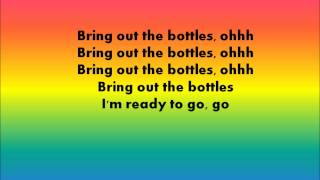 RedFoo - Bring Out The Bottles Lyrics