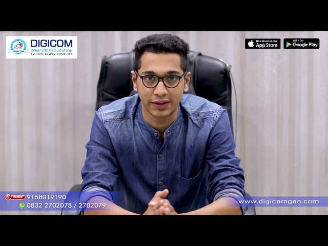 Digital Marketing at Digicom Computer Education Goa