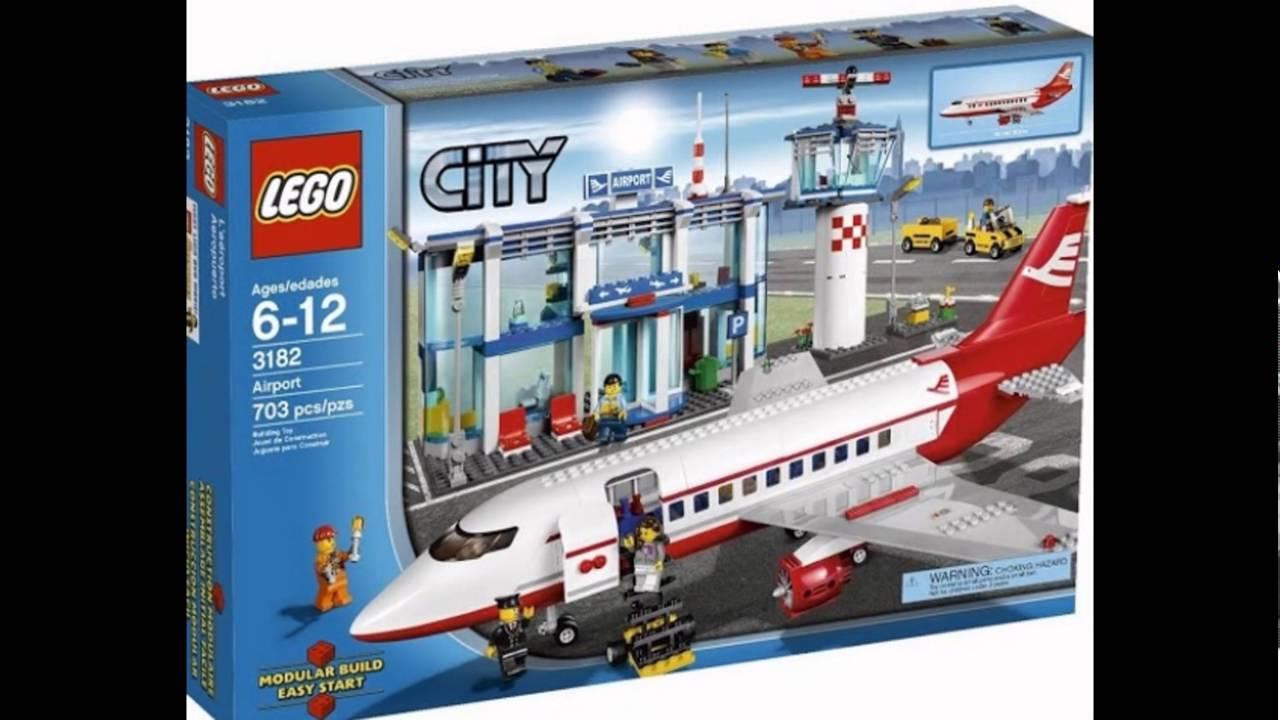 Лего Самолет 7893 - YouTube