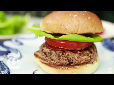 Ultimate Veggie Burger | Melissa Clark Recipes | The New York Times