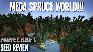 GIANT MEGA SPRUCE TAIGA! - Minecraft Seed