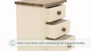 Pinesolutions Camden Bedside Cabinet