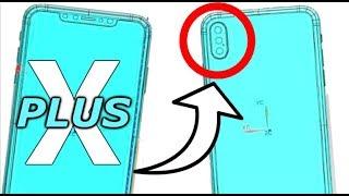 El iPhone X Plus Filtrado en Nuevo Esquema  ¿Triple Cámara a la Vista?