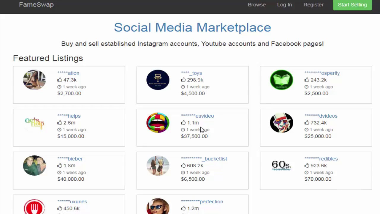 19802f4807756 موقع رائع لبيع وشراء قنوات اليوتيوب وحسابات الانستقرام - YouTube