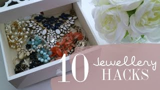 10 Jewelry Hacks + Accessories Haul