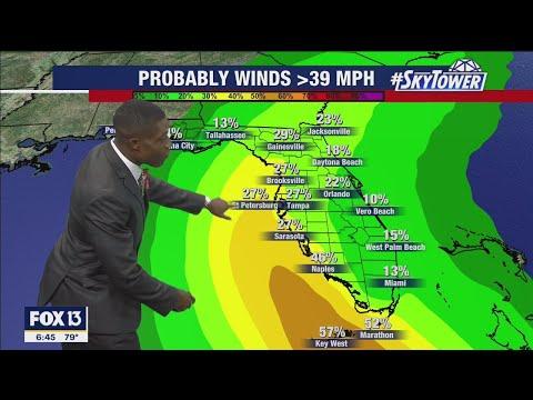 Tropical Storm Elsa: Sunday morning forecast