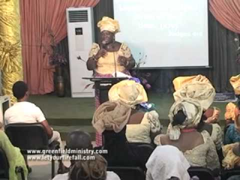 The Role Of Mothers In The Body Of Christ By Pastor Silverline Felix Young
