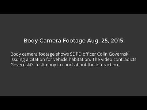 Body Cam Footage Shows SDPD Officer Gave False Testimony in Homeless Case