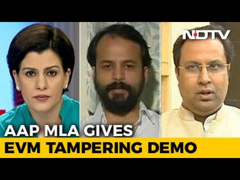 AAP's 'EVM Hack' Demo in Delhi Assembly A Diversion From Corruption Charge?