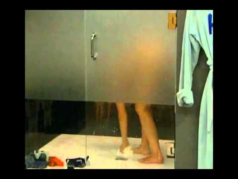Big Brother 15: Aaryn Taking A Shower