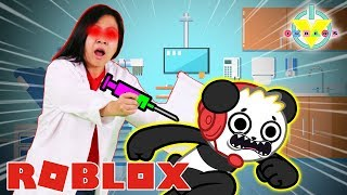 RYAN'S MOMMY IN ROBLOX HOSPITAL! Roblox Holmes Hospital Let's Play with Combo Panda