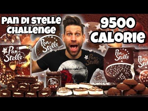 PAN DI STELLE Challenge (9500 Calorie) - Cheat Day - MAN VS FOOD