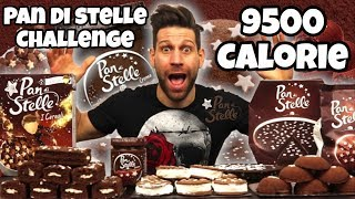PAN DI STELLE Challenge (9500 Calorie) - Cheat Day - MAN VS FOOD