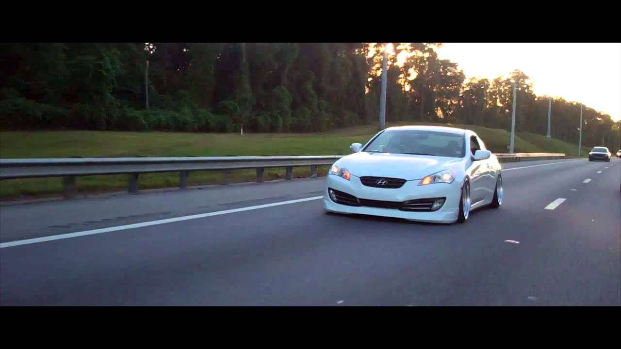 Slammed Genesis Coupe YouTube