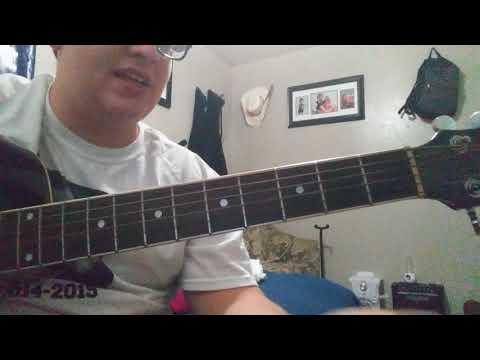How to play I'm over you (Keith Whitley) two ways