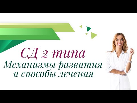 Сахарный Диабет 2 Типа. Механизмы развития и способы лечения. Врач эндокринолог Ольга Павлова.