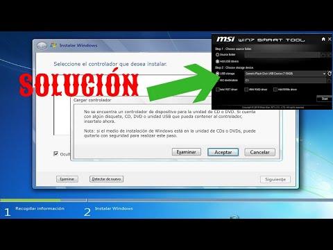 No se encuentra un controlador de dispositivo para la unidad de CD o DVD - SOLUCIÓN DEFINITIVA