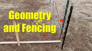 High School Geomertry Saved My Fencing Project