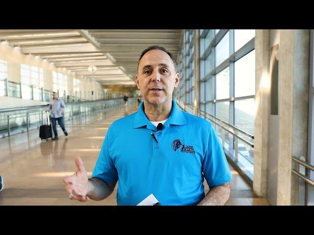 Israel Tour 2019: Ben Gurion Airport