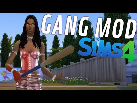 SIMS 4 GANG MOD - Extreme Violence Mod Update!