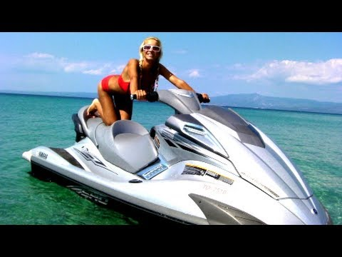 Why Is My Wallpaper Falling Off Bikini Girl Takes Rides On A Jet Ski Yamaha Youtube