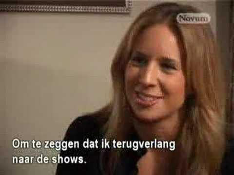 Lucie Silvas - Telegraaf Interview